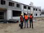 Wizyty studyjne na budowie Domu Studenta PSW
